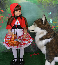 Masterpiece Dolls, Little Red Riding Hood Brown  Eyes, Monika Levenig, 39 inches