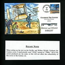 Collins HP FDC #3182g (M2807) CTC 1900's - Orville and Wilbur Wright, Kitty Hawk