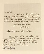 """C1789   William Eden   ALS lettera   economista Adam Smith's Health """"molto scosso"""""""