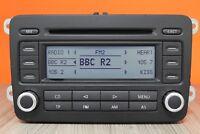 VW VOLKSWAGEN RCD 300 CD RADIO PLAYER AND CODE GOLF PASSAT CADDY JETTA TOURAN