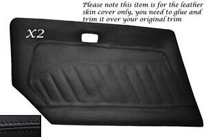 BLACK STITCH GLOVE BOX LID LEATHER SKIN COVER FITS DATSUN 240Z 260Z 280Z 74-78