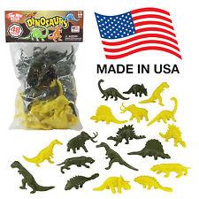 TimMee Processed Plastic Dinos 48 Tim Mee Prehistoric Dinosaur & Ice Age Figures