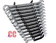 11pc Métrique Clé plate Combinaison Set Outils 6,7, 8,9, 10,11, 12,13, 14,17,