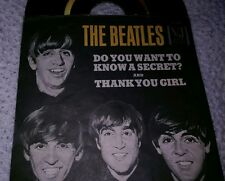 THE BEATLES VJ 45RPM WANT TO KNOW A SECRET/Thank You Girl 1964 Orig Cover&Vinyl
