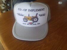 80s VTG WFE White Farm Equipment Tractor Snap Back Hat Trucker New Richland, MN