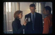 The X-Files Robert Patrick Gillian Anderson Original 35mm Transparency Red Rum