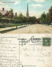 PATERSON N.J. BROADWAY ANTIQUE POSTCARD