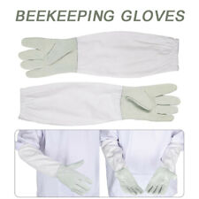 Goatskin Beekeeping Supply Gloves With Vented Long Sleeves For Beekeeper 50cm Us