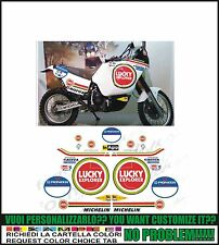 kit adesivi stickers compatibili elefant 900 replica 1990 orioli lucky ex dakar