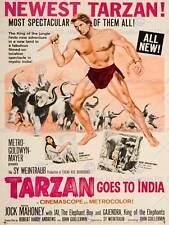 Pubblicità TEATRO MOVIE FILM TARZAN India MGM HOLLYWOOD USA art print bb4672b