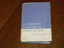 Alcoholics Anonymous Collectors VERY RARE A.A. Comes of Age 1957 1st/1st in ODJ!
