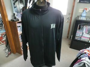 Hawaii Warriors black Under Armour zip-up jacket size 3XL polyester blend #31082
