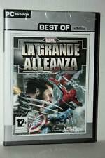 MARVEL LA GRANDE ALLEANZA GIOCO NUOVO PC DVD VERSIONE ITALIANA VBC 42547