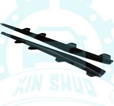 2pcs FOR VW Scirocco R Black Left+Right Carbon Fiber Side Skirt