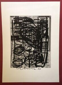 Olaf Metzel, Cinema 1, Kombinationsdruck, 1989, handsigniert und datiert