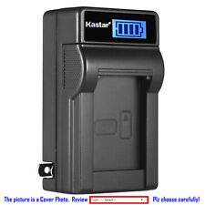 Kastar Battery LCD Wall Charger for Sony NP-QM91D & Cyber-shot DSC-F828 DSC-R1