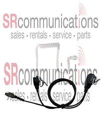 Two wire Surveillance PTT headset Icom F11 F21 F24 F14 F4011 F3011 F3001 F4001