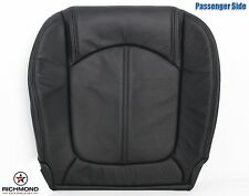 2011 GMC Acadia SLT1 SLT2 -Passenger Bottom Replacement LEATHER Seat Cover Black