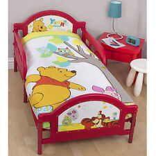 Winnie The Pooh Junior Cot Bed Toddler Duvet Set Bundle 4 in 1