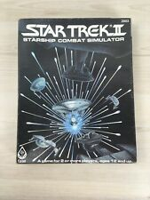 Star Trek II - Starship Combat Simulator  - FASA