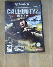 Jeu CALL OF DUTY 2 BIG RED ONE sur Nintendo Game Cube PAL Complet