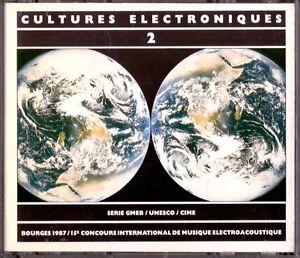 Cultures Electroniques 2 2CD 1987 Bourges CIME Electroacoustic KARPEN Katzer etc