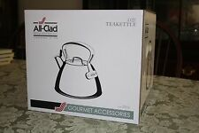 NEW All-Clad Stainless-Steel Tea Kettle 2 quart New In Box