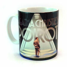 BRAND NEW AGATHA CHRISTIE'S POIROT GIFT MUG CUP PRESENT MEMORABILIA CHRISTIE