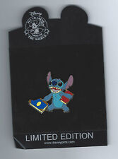 Disney Stitch with Books 2008 Back to School Series LE 250 Pin