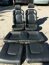 2002-9 Hyundai Coupe GK 2.0 Black Leather Interior Front Rear Seats Door Cards