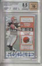2010 Panini Playoff Contenders Colt McCoy AUTO Rookie RC Ticket BGS 8.5 10 /394