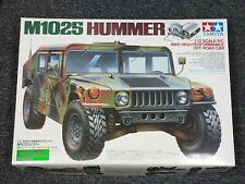 New Vintage Tamiya 1/12 R/C M1025 Hummer Military TA01 Chassis Manual 3-speed