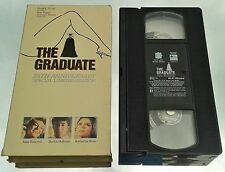 THE GRADUATE (VHS) RARE 25TH ANNIVERSARY SPECIAL LIMITED w/ D. HOFFMAN (RAINMAN)