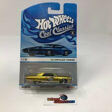 '63 Chrysler Turbine * Hot Wheels Cool Classics * B27