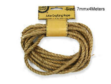 New 4x 4Meters Jute Crafting Rope Craft Natural Hemp Rope Arts Crafts Project