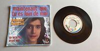 Ref 190 Vinyle 45 Tours Frederic Francois Maintenant Que Tu Es Loin De Moi