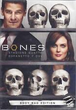 7 Dvd Box Cofanetto **BONES ~ STAGIONE 04 QUATTRO** Body Bag Edition nuovo