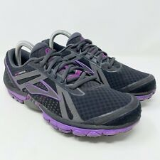 Brooks Pure Cadence Athletic Running Purple Black Shoes Women's Size 9