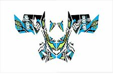 SKI DOO BRP REV XP XM XR Z SUMMIT GRAPHICS DECAL WRAP 163 154 146 137 121 blue t