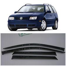 For VW Jetta 4/Bora Variant Wagon 1999-2005 Window Visors Guard Vent Deflectors