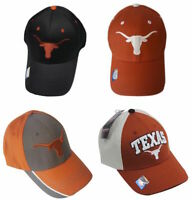 Texas Longhorns Cap Adjustable Structured Hat - Choose Color and Design