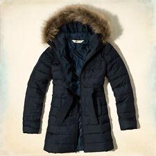 HOLLISTER By Abercrombie & Fitch Winter Coat Jacket Parka Quilt Large