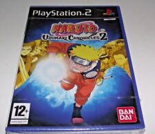Naruto Uzumaki Chronicles 2 PS2 PAL *Sealed*