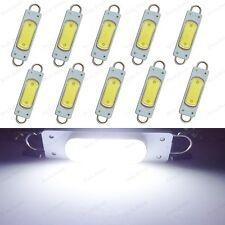 10 X Xenon White 44mm Cob Rigid Loop Festoon Led Light Bulbs 561 562 567 212 2