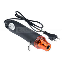 220V 300W Black Heat Gun Shrink Hot Air Temperature Electric Power Nozzles Tool