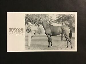 RIDAN Horse Racing 1962 FLORIDA DERBY