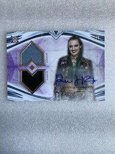 2020 Topps WWE Undisputed Ruby Riott Dual Relic Auto Purple #'d 2/5 SSP