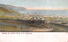 SUBIDA DE SANTA CRUZ A LA LAGUNA SPAIN POSTCARD 1900s