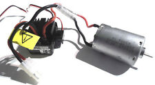 HSP Maverick WP-1040 Waterproof Brushed ESC Speed Controller & Motor 2-3s