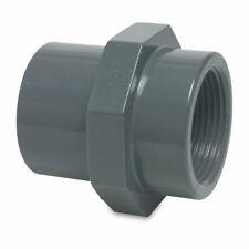 Mega Gewindemuffe PVC-U Klebemuffe/Klebestutzen x Innengewinde 10 bar Grau